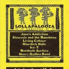 Lollapalooza  Poster 13x19 inches