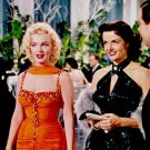Marilyn Monroe and Jane Russel  Poster 13x19 inches