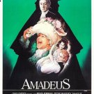 Amadeus Movie Poster 1984  Style B 13x19 inches