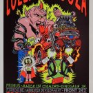 Lollapalooza  Poster 13x19 inches H
