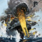 Battle of Midway  Style L Poster 13x19 inches