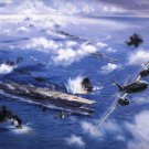 Battle of Midway  Style H Poster 13x19 inches