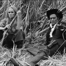 On The Set Of The Movie Red Sun Ursula Andres &  Alain Delon Poster A 13x19
