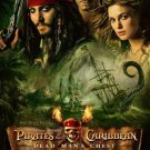 Pirates of the Caribbean 2 Regular Original Movie Poster Dbl Sided 27x40 inches