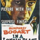 Humphrey Bogart In A Lonely Place Style A Movie Poster 13x19 inches
