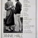 Annie Hall  Style V Poster 13x19