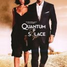 Quantum of Solace Movie Poster Double Sided Original 27X40 inches