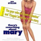 """There's Something About Mary Final Two Sided 27""""x40' inches Orig Movie Poster"""