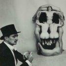 Salvador Dali Surrealist Art Black And White  Poster 13x19 inch