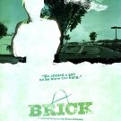 Brick (Tug) Double Sided Original Movie Poster 27x40 inches