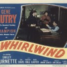 Whirlwind Style B Movie Poster 13x19 inches