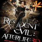 """Resident Evil After Life Adv  A Two Sided 27""""x40' inches Original Movie Poster"""