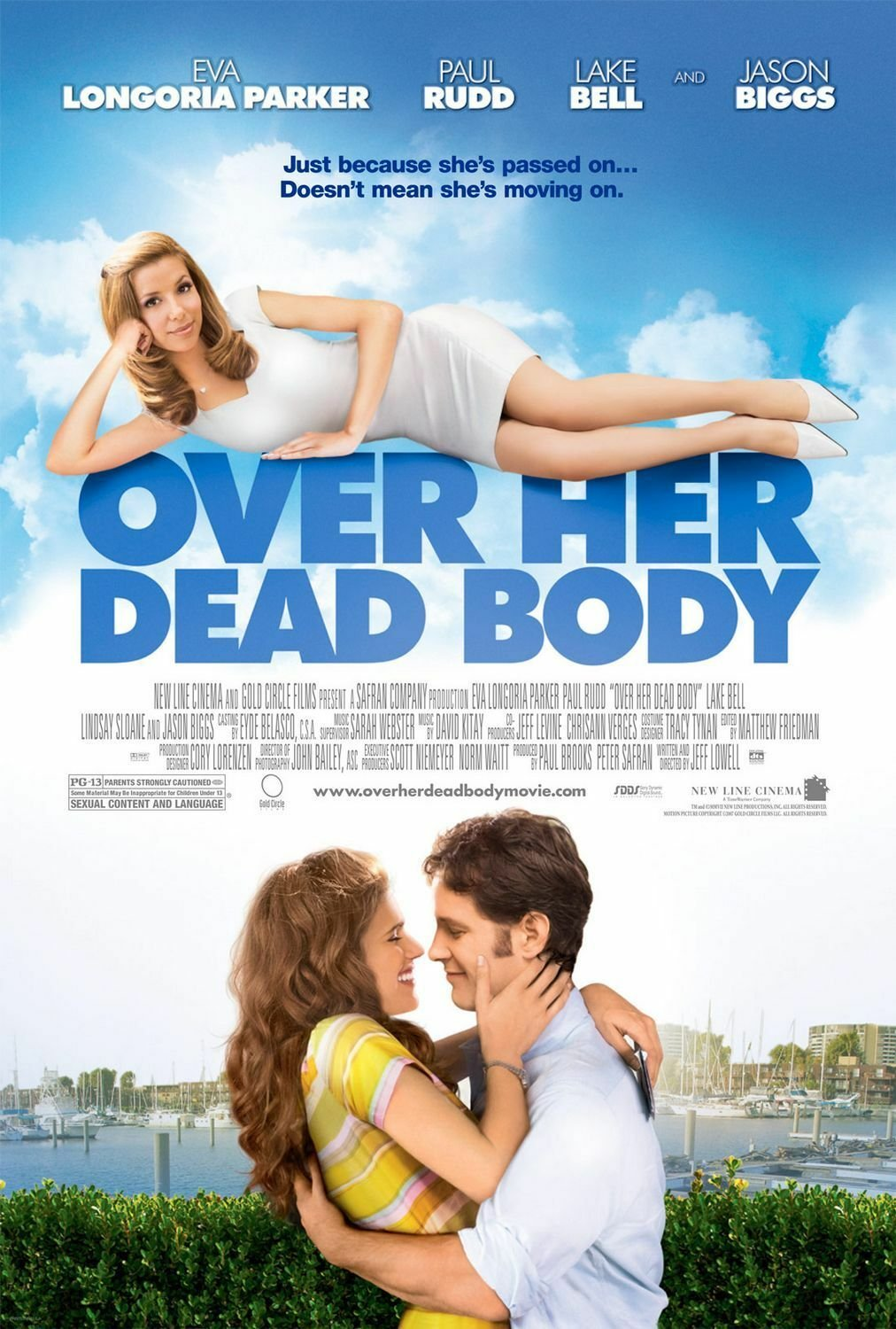 Over Her Dead Body Style A Poster 13x19 inches