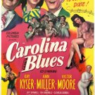 Carolina Blues Movie  Poster 13x19 inches
