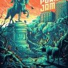 Pearl Jam Fenway Boston   Poster 13x19