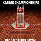 Karate Championship at All Valley  Poster 13x19