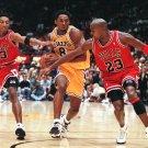 Kobe Bryant Jordan Pippen Poster  13x19