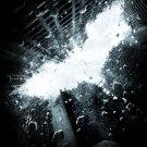 Batman Dark Knight Rises Advance  Original Movie Poster Double Sided 27 X40
