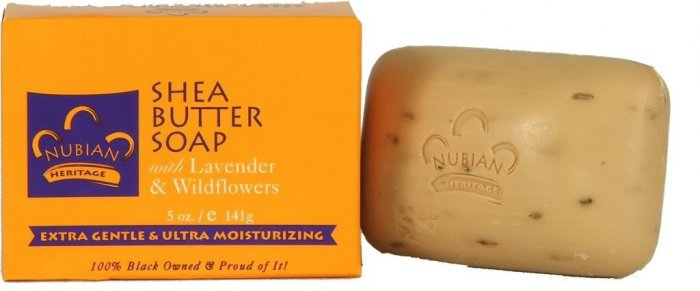 SHEA BUTTER SOAP WITH LAVENDAR & WILDFLOWERS