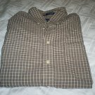 John Ashford Men's dress shirt long sleeves size Medium