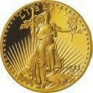 STANDING LIBERTY GOLD GP COIN $50.00 1 OZ