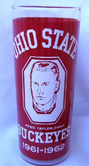Ohio State Buckeyes 1961-1962 Basketball Champs Glass