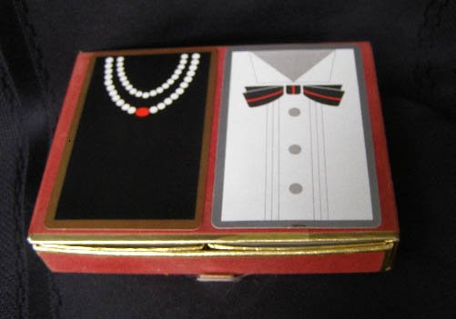 Old Formal Attire Playing Cards Bridge Set by Congress