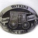 Vintage Watkins Spice Advertising Belt Buckle