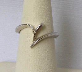 Vintage Modernist Sarah Coventry Ring Sz 5