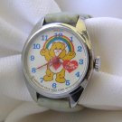 Vintage 1983 Care Bear Wrist Watch Works!!