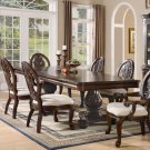 Tabitha Deep Rich Cherry Finish Collection Dining Table
