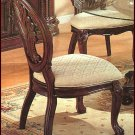Timeless Cherry Glass Side Chair Set of Two