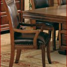 3637 Arm Chair in Tobacco Cherry