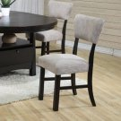 Essex Distress Black Storage Collection Chair -Set of Two