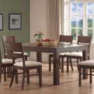 Essex Walnut Collection Dining Table