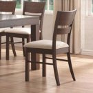 Essex Walnut Collection Dining Chairs - Set of Two