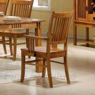 Essex Mission Look Collection Arm Chair - Set of Two