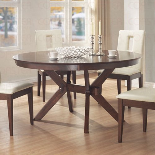 Essex Walnut Finish Collection Table