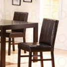 Cappuccino Finish Parson Chair 100962  Set of 2