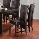 Essex Dermont Glass Collection Parson Chair -Set of Two -100972