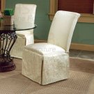 Essex Majestic Metal and Glass Collection Parson Chair -Set of Two -4466
