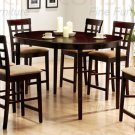 Cappuccino Oval Counter Height Collection Table - 100208