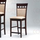 Cappuccino Collection Barstool - Set of Two -100219