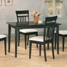Essex Cappuccino Finish Dining Collection Table - 100491