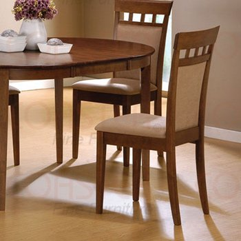 Dining Collection WALNUT Chair - Set of Two