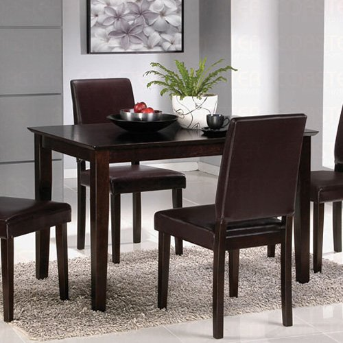 Cappuccino Finish Collection Table