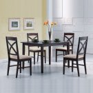 Dark Walnut Collection 5 Piece Set - 50211