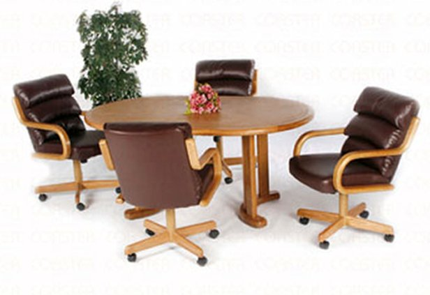Casual 5pc Oval Collection Table - G717