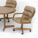 Oak Finish Collection Chair - Set of Two - G9550F