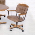 Oak Finish Collection Chair - Set of Two - G1010